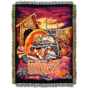 Northwest NFL Cleveland Browns Home Field Advantage Tapestry Throw