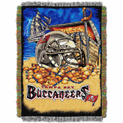 Northwest NFL Tampa Bay Buccaneers Home Field Advantage Tapestry Throw