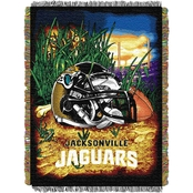 Northwest NFL Jacksonville Jaguars Home Field Advantage Tapestry Throw