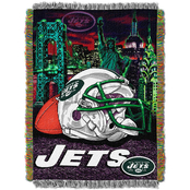 Northwest NFL New York Jets Home Field Advantage Tapestry Throw