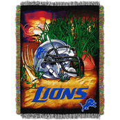 Northwest NFL Detroit Lions Home Field Advantage Tapestry Throw