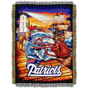 Northwest NFL New England Patriots Home Field Advantage Tapestry Throw