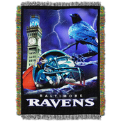 Northwest NFL Baltimore Ravens Home Field Advantage Tapestry Throw