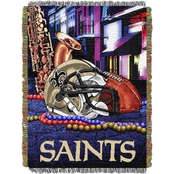 Northwest NFL New Orleans Saints Home Field Advantage Tapestry Throw