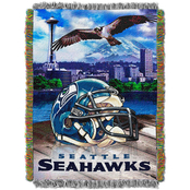 Northwest NFL Seattle Seahawks Home Field Advantage Tapestry Throw