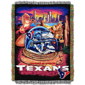 Northwest NFL Houston Texans Home Field Advantage Tapestry Throw