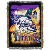 Northwest NFL Tennessee Titans Home Field Advantage Tapestry Throw