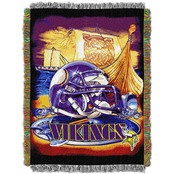 Northwest NFL Minnesota Vikings Home Field Advantage Tapestry Throw