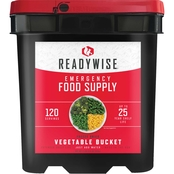 Wise Company ReadyWise Freeze Dried Vegetables Bucket 120 Serving