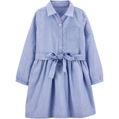 Carter's Toddler Girls Chambray Woven Dress