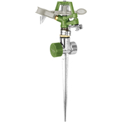 Martha Stewart Collection Heavy Duty Metal Impulse Sprinkler
