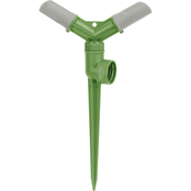 Martha Stewart Collection Rotating Sprinkler with Durable Spike, 2 Arm