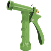Martha Stewart Collection Heavy Duty Pistol Grip Metal Hose Nozzle with 3 Settings