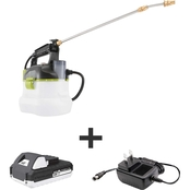 Sun Joe 24V iON+ Multi-Purpose Sprayer Kit with 1.3 Ah Battery + Charger