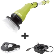 Sun Joe 24V Cordless Handheld Scrubber with 1.3 Ah Battery + Charger