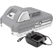 Snow Joe + Sun Joe 24V-2AMP-SK1 24V iON+ Starter Kit with 2Ah Battery + Charger