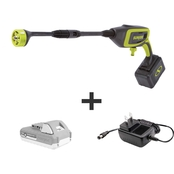 Sun Joe 24V-PP350-LTE 24V iON+ Power Cleaner Kit with 2Ah Battery + Charger