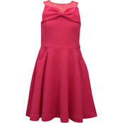 Bonnie Jean Little Girls Side Pocket Skater Dress