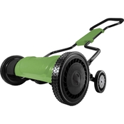Martha Stewart Collection 18 in. Silent Push Reel Mower
