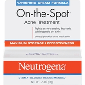 Neutrogena On-the-Spot Acne Treatment Vanishing Cream Formula