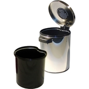 Nine Stars 1.3 gal. Infrared Trash Can with Removable Plastic Bucket