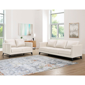 Abbyson Kenneth Sofa and Loveseat