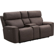 Abbyson Brent Power Reclining Loveseat