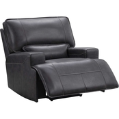 Abbyson Marcia Leather Power Recliner