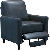 Abbyson Chester Leather Pushback Recliner