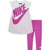 Nike Little Girls Futura Dress & Leggings 2 pc. Set
