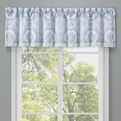 Royal Court Claremont Blue Window Straight Valance