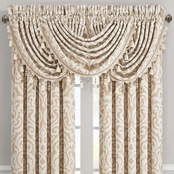 J. Queen New York Milano Sand Window Waterfall Valance