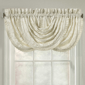 J. Queen New York Marquis Ivory Window Waterfall Valance