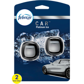 Febreze Car Platinum Ice Twin Pack
