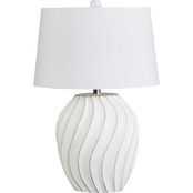 Signature Design by Ashley Hidago 26 in. Paper Table Lamp