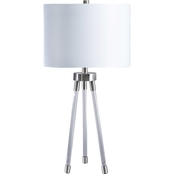 Signature Design by Ashley Idalia 29.5 in. Acrylic Table Lamp
