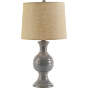 Signature Design by Ashley Magdalia 25.75 in. Ceramic Table Lamp