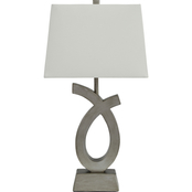 Signature Design by Ashley Amayeta 27.75 in. Poly Table Lamp 2 pk.