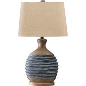Signature Design by Ashley Medlin 27.13 in. Paper Table Lamp