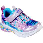 Skechers Toddler Girls Sweetheart Lights Shoes