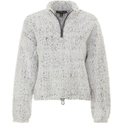 Almost Famous Juniors Sherpa Drawstring Pullover