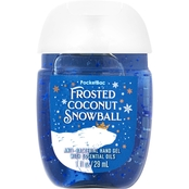 Bath & Body Works Frosted Fable: Pocketbac Frosted Coconut Snowball Hand Sanitizer