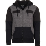 Machine Quilted Hoodie