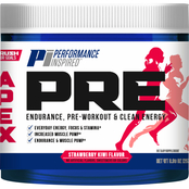 Performance Inspired Apex Blue Raspberry Pre Workout