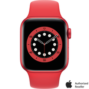 Apple Watch Series 6 GPS + Cellular PROJECT(RED) Aluminum Case with Red Sport Band