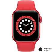 Apple Watch Series 6 GPS PRODUCT(RED) Aluminum Case with Red Sport Band