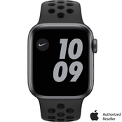 Apple Watch Nike Series 6 GPS 40mm Space Gray Aluminum Case Black Nike Sport Band