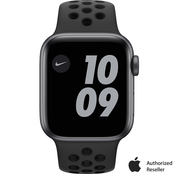 Apple Watch Nike SE GPS 40mm Space Gray Aluminum Case Black Nike Sport Band