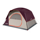 Coleman Skydome 6 Person Blackberry Camping Tent