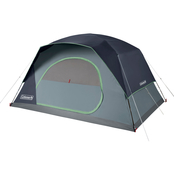 Coleman Skydome 8 Person Blue Nights Camping Tent